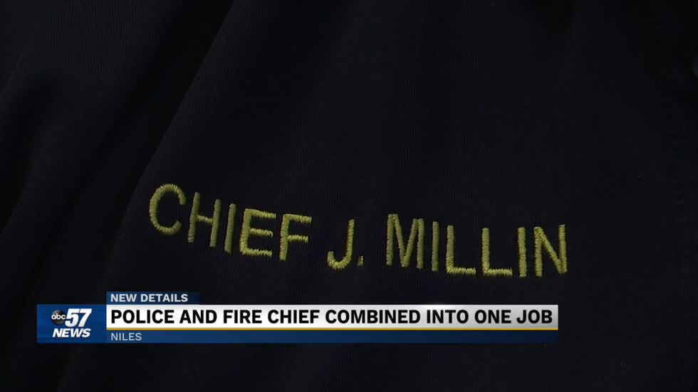 Niles police chief merging with fire department